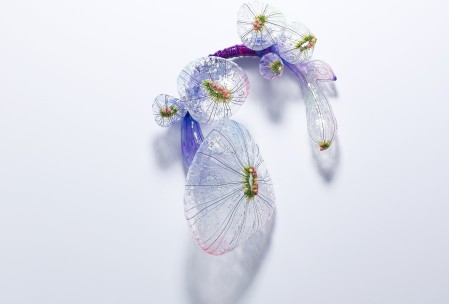Seulgi Kwon, The Dream In A Dream, Brooch, 2015, silicone, pigment, thread, plastic bead, 5.5 x 5.1 x 2.1 inch