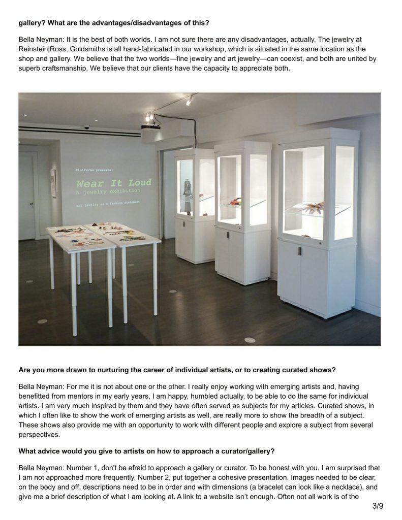 Tags Ajfishere Art Jewelry Forum Contemporary